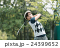 Japanese woman golfer , housewife 24399652