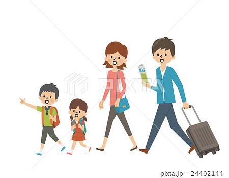 旅行 家族【シンプルキャラ・シリーズ】 24402144