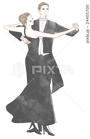 社交ダンスのイメージのイラスト素材 24405700 Pixta