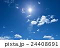 青空 晴天 空の写真 24408691