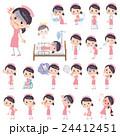 看護婦 女性 ナースのイラスト 24412451