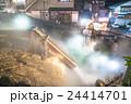 【群馬県】草津温泉・湯畑 24414701