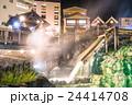 【群馬県】草津温泉・湯畑 24414708