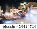 【群馬県】草津温泉・湯畑 24414714