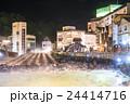 【群馬県】草津温泉・湯畑 24414716
