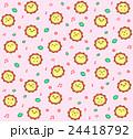 フラワーパターン 24418792