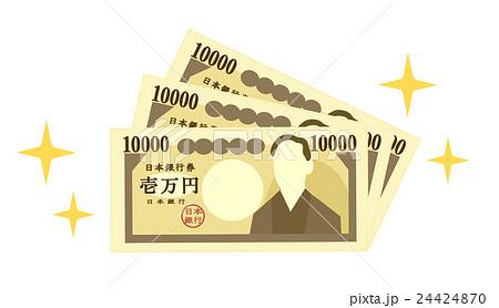 お金キラキラ 24424870