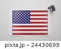 アメリカ国旗 24430699