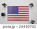アメリカ国旗 24430702