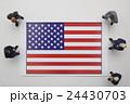 アメリカ国旗 24430703
