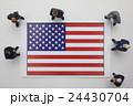 アメリカ国旗 24430704