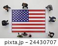 アメリカ国旗 24430707