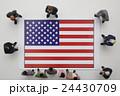 アメリカ国旗 24430709