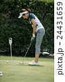 Japanese woman golfer , housewife 24431659