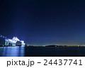 夜景 東京ゲートブリッジ イルミネーションの写真 24437741