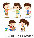 primary student boy and girl 24438967