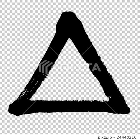 三角 △ triangle 24440210