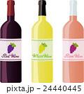ワイン ベクター セットのイラスト 24440445