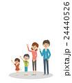 見上げる家族【シンプルキャラ・シリーズ】 24440526