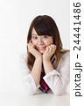 女性 女子高生 人物の写真 24441486
