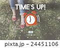 アラーム 掛け時計 時計の写真 24451106