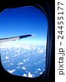 機窓 空 雲の写真 24455177