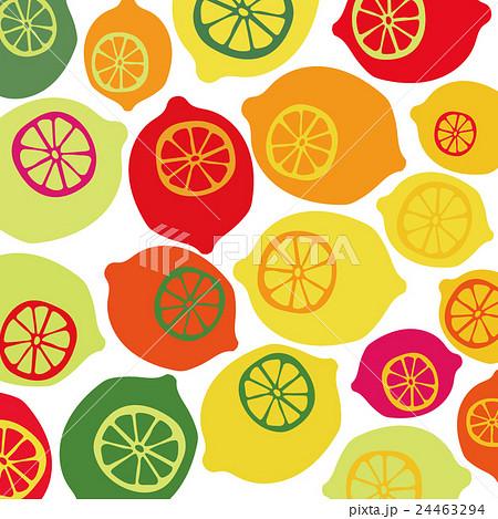 背景レトロカラフルなレモンのイラスト素材 24463294 Pixta