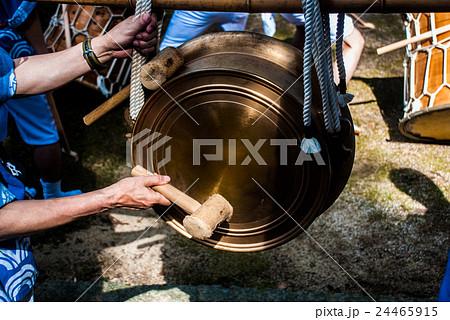 夏祭りの鉦の写真素材 [24465915] - PIXTA