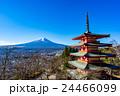 新倉山浅間公園 富士山 冬の写真 24466099