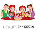 還暦を祝う家族  24466519
