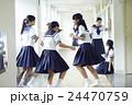女子 友達 女子中学生の写真 24470759