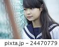 女子中学生 ポートレート 24470779