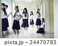 女子 中学生 女子中学生の写真 24470783