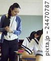 人物 教師 女性の写真 24470787
