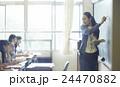 学校 授業風景 中高生イメージ 24470882