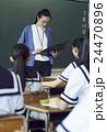人物 教師 女性の写真 24470896