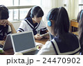 人物 女性 中学生の写真 24470902