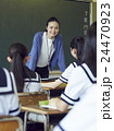 教師 先生 女性の写真 24470923