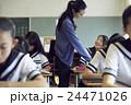 教師 女子中学生 生徒の写真 24471026
