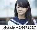 ポートレート 中学生 女子中学生の写真 24471027