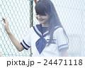 ポートレート 女子 中学生の写真 24471118