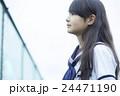 ポートレート 女子 中学生の写真 24471190