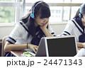 人物 女性 中学生の写真 24471343