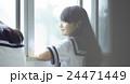 中学生 女子中学生 学生の写真 24471449