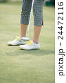 Japanese woman golfer , housewife 24472116