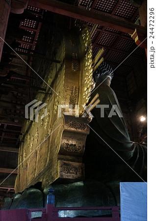 """奈良「東大寺」:大仏の背後にある""""光背""""(こうはい) 24472296"""
