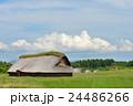 三内丸山遺跡 縄文遺跡 大型竪穴住居の写真 24486266