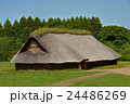 三内丸山遺跡 縄文遺跡 大型竪穴住居の写真 24486269