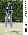 Japanese woman golfer , housewife 24486856