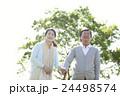 笑顔のシニア夫婦 24498574